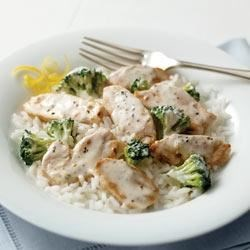 Lemon-Broccoli Rice with Chicken