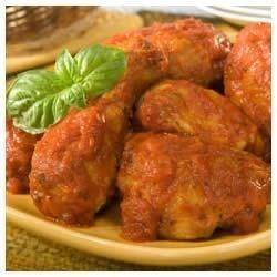 Skillet Chicken Cacciatore