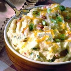Creamy Cheesy Mashed Potatoes