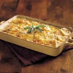 Cheesy Potato Gratin