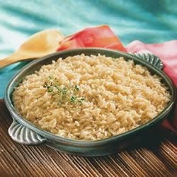 Broth Simmered Rice Recipe - What a difference one ingredient can make - you will be amazed at the flavor improvement Swanson(R) Broth makes when you taste rice cooked in broth instead of water.