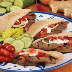 Grilled Beef Gyros