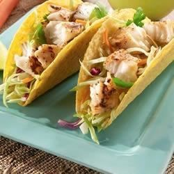Lemon Pepper Fish Tacos Recipe - No need to go to a restaurant for the fresh taste of fish tacos.  Making them at home is quick and easy.  Enjoy!