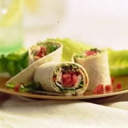 Smoked Turkey And Sun-Dried Tomato  Wraps