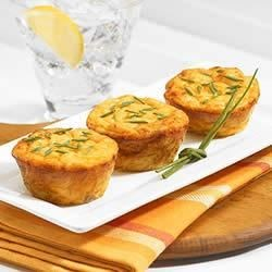 Mini Cheese Souffle Bites