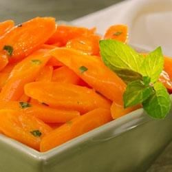 Becel(R) Orange Glazed Carrots Recipe - The flavours of citrus pair well with the natural sweetness of the carrots and make this a perfect mate for pork tenderloin. Try this recipe tonight using Becel(R) Buttery Taste, with irresistible flavor and 80% less saturated fat than butter.