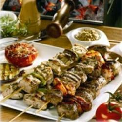 Marinated Kebabs with Maille® Dijon Originale Mustard