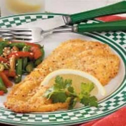 Breaded Flounder Fillets