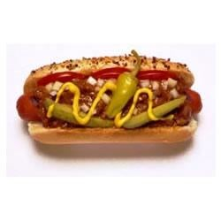 Chicago Style Chili Dogs