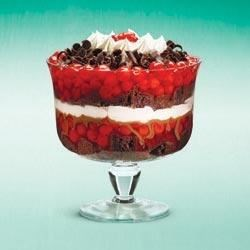 Layers of Love Cherry-Choco Trifle