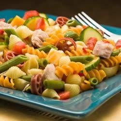 Wacky Spring Salad with Tuna Recipe - Easy, simple spring salad with a zesty flavor.