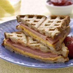 Toasted Ham & Cheese Sandwiches
