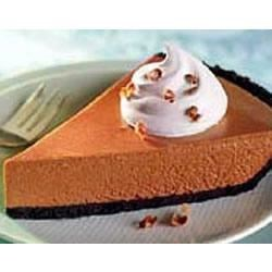 Chocolate Chiffon Pie by EAGLE BRAND(R) Recipe - This spectacular pie has a light and creamy chocolate filling.
