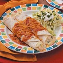 Jalapeno Chicken Enchiladas