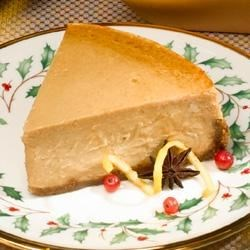 Apple Butter Cheesecake Recipe - A gingersnap crust and lots of rich apple butter bring a new flavor dimension to this classic cheesecake recipe.