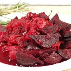 Beets with Onion and Cumin Recipe - Beets simmered with garlic, onion and cumin seed.