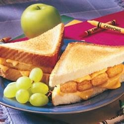 Fish stick and cheese sandwich melt recipe for Fish stick sandwich