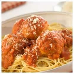 Bertolli Spaghetti and Meatballs