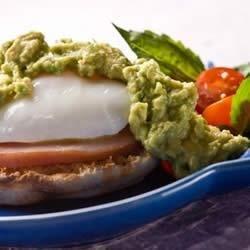 Eggs Avocado Benedict Style