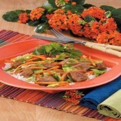 Oriental Pork Cabbage Stir-Fry