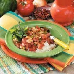 Spicy Beans 'N' Rice