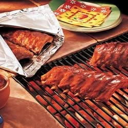 Baby Back Barbecue Ribs