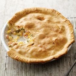 Philly Chicken Pot Pie