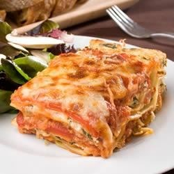 Quick and Easy Pesto Polenta Lasagna