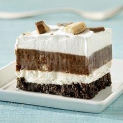 Chocolate Candy Bar Dessert