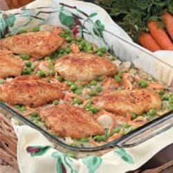 Wild Rice Chicken Bake