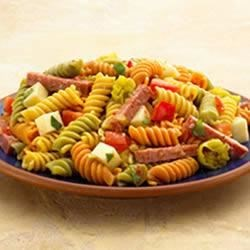 Antipasto-Style Pasta Salad Recipe - This zesty pasta salad has all of the flavor of an Italian antipasto tray.