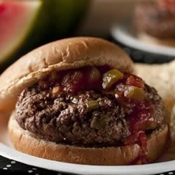 Wild West Picante Burgers