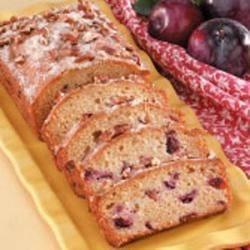 Plum Quick Bread