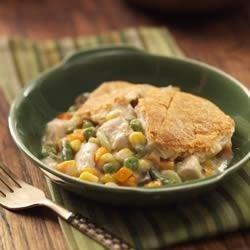 Crescent Chicken Potpie