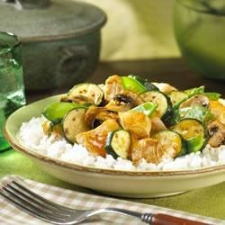 Sweet and Sour Chicken Stir Fry Recipe - Use a wok or large skillet to whip up this tasty Asian-inspired dish.