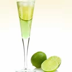 The Sparkling Sauza(R) Margarita Recipe - The addition of Prosecco, a sparkling Italian white wine, gives this margarita a bright flavor and bubbly fizz that adds fun to any occasion.