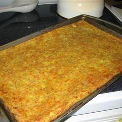 Squash Pizza crust