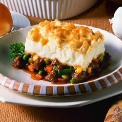 Sausage Shepherds Pie