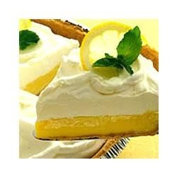 Creamy Lemon Pie Recipe - Light, lemony and luscious are just a few of the ways to describe this incredibly easy dessert. Top with whipped topping or whipped cream for a fabulous dessert that no one will be able to resist.