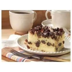 Chocolate Chunk-Cinnamon Coffee Cake