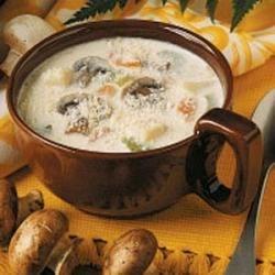 Mushroom and Potato Chowder