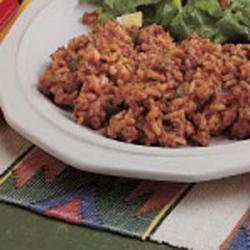 Hamburger Spanish Rice