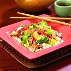 Bangkok Broccoli Stir Fry
