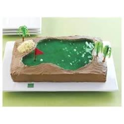Hole-in-One Cake