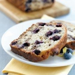Blueberry Lemon Walnut Bread Recipe - The tartness of lemons complements the sweet subtle taste of walnuts in this quick bread recipe. The addition of blueberries offers a colorful antioxidant boost.