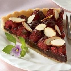 Raspberry Truffle Tart Recipe - If you'd prefer, the filling can be cooked in double boiler over simmering water.
