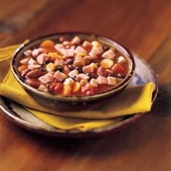 Hearty 3-Bean & Ham Soup
