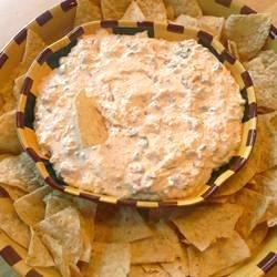 Salsa Onion Dip Recipe - Classic onion soup dip gets a kick with TABASCO(R) Sauce and salsa, and it's ready in ten minutes!