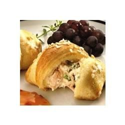 Crab-Filled Crescent Snacks Recipe - Crescents, crab and cheese create a class-act appetizer!