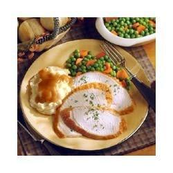 Brined and Roasted Turkey Breast